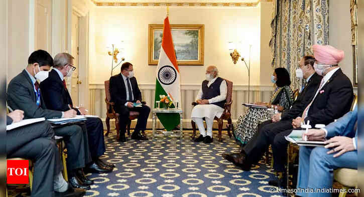 Modi shoots for Predator drones and other critical tech and investments in talks with US CEOs