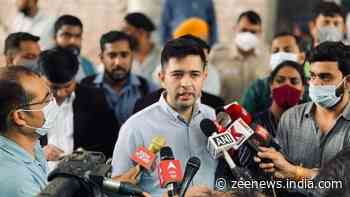 BJP panicked by Arvind Kejriwal`s growing popularity, attempting to tarnish AAP's image by sending notices: Raghav Chadha