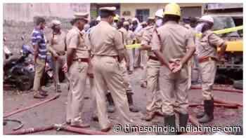 2 dead, 3 injured in blast at firecracker storage in Bengaluru