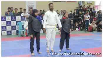 6th J&K Pencak Silat Championship organized in Srinagar