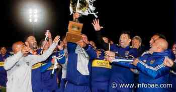Con golazos del Chelo Delgado y el Chipi Barijho, Boca Juniors se consagró campeón del fútbol Senior - infobae