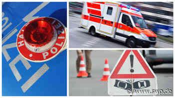 Polizei Pfullingen: E-Scooter-Lenker verletzt sich bei Unfall mit C-Klasse schwer - SWP
