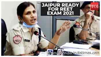 Jaipur: Traffic cops prepare for REET 2021 examinations