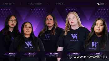 Version1 announces VersionX, its all-women's professional VALORANT team