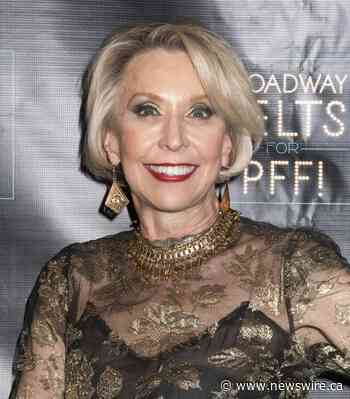 TV And Broadway Actress Julie Halston To Receive Tony Award For Advocacy Work In Support Of Pulmonary Fibrosis Foundation