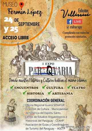 La Expo Paraqvaria se realizará este viernes y sábado en Villarrica - - ip.gov.py