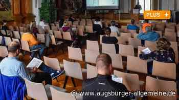 Keine einfache Bundestagswahl für die Helfer - Augsburger Allgemeine