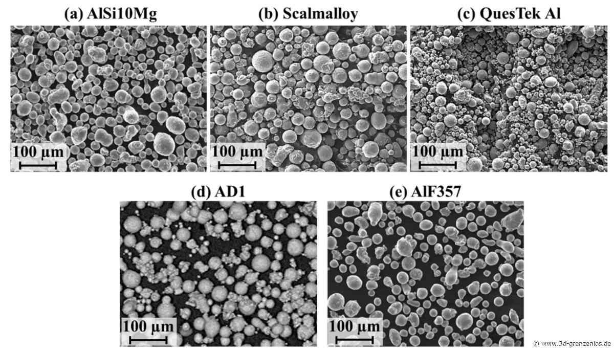 Auburn University und EOS untersuchen den 3D-Druck von Aluminiumlegierungen beim Pulverbettverfahren - 3D-grenzenlos Magazin