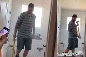 Client Doesn't Pay, Angry Colorado Contractor Destroys Bathroom