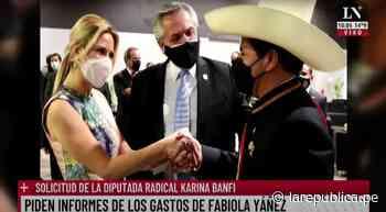 Periodista de Argentina confunde al presidente Pedro Castillo con un mariachi - La República Perú