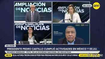 Ricardo Márquez: Pedro Castillo dijo que la bancada de Perú Libre no coordinó con él proyecto de ley de medios - RPP Noticias