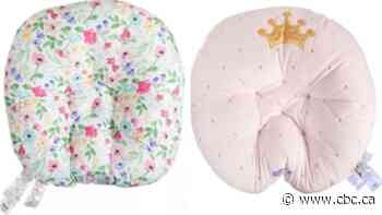 Boppy baby loungers recalled in U.S. and Canada due to suffocation hazard