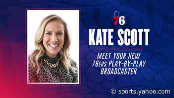 Kate Scott named new Sixers play-by-play broadcaster on NBC Sports Philadelphia