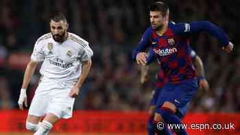 Barcelona-Real Madrid 'Clasico' set for Oct. 24