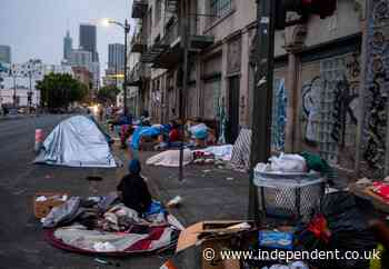 LA order that all homeless people be rehoused by October is overturned by judges