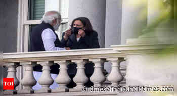 PM Modi, US Vice-President Kamala Harris flower a new friendship