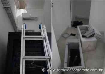 Cooperativa de Crédito é alvo de furto, em Indaial - Jornal de Pomerode