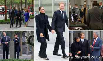 Just two private citizens on a sightseeing trip to New York... Well, it's Harry and Meghan