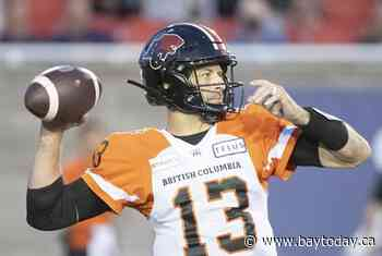 Stingy defence key as B.C. Lions matchup with Saskatchewan Roughriders