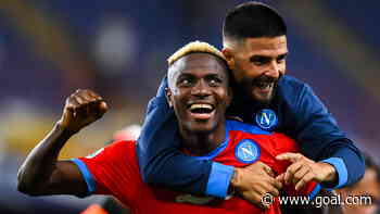 Osimhen nets twice to send Napoli top of Serie A
