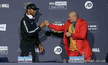 Anthony Joshua holds a height advantage over Oleksandr Usyk, but size doesn't always matter