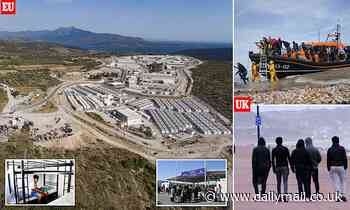 EU's £37million migrant centre will provide clean, safe accommodation for 3,000 arrivals
