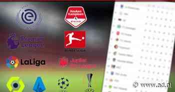 LIVE | AS Roma ontvangt Udinese, Anderlecht tegen Gent - AD.nl