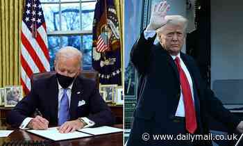 When Biden found letter from Trump in Resolute Desk he put it in his pocket and refused to share it