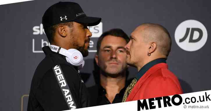 Anthony Joshua vs Oleksandr Usyk: Fight time, undercard, odds and how to watch in the UK
