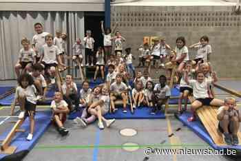 Leerlingen boordevol energie dankzij 'Kronkeldidoe' (Zottegem) - Het Nieuwsblad