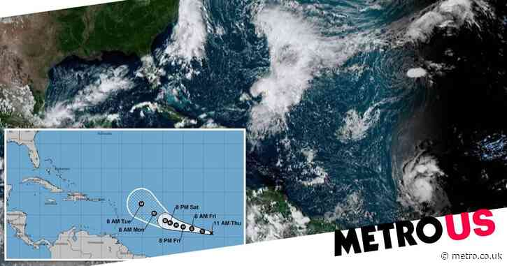 Tropical Storm Sam expected to reach hurricane strength by Friday night