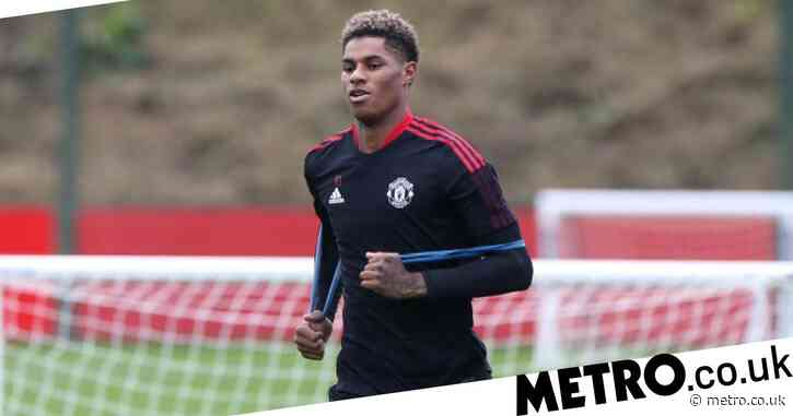 Marcus Rashford targeting huge Manchester United's clash with Liverpool for his return from injury