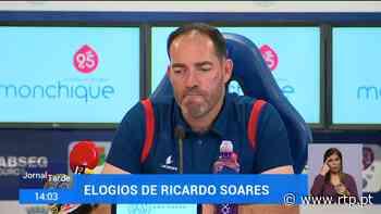 Gil Vicente diz que o Porto está mais forte - RTP