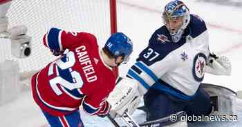 Winnipeg Jets goalie Connor Hellebuyck is pro choice on getting vaccinated