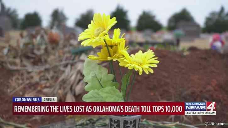 Oklahoma hits grim milestone, surpassing 10,000 deaths due to COVID-19