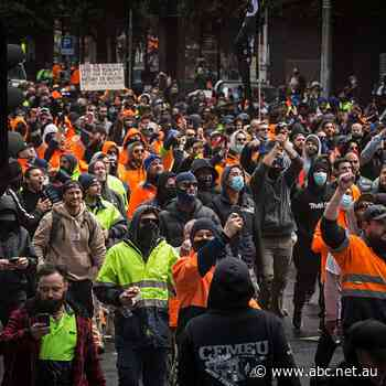 Claims Victorian protests spurred by far-right groups