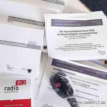 Dortmund: Neuer Haushaltsplanentwurf vorgestellt - Radio 91.2