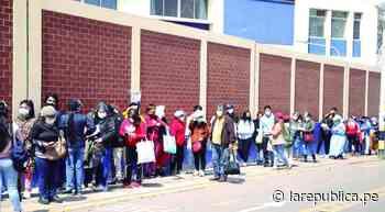 Tacna y Moquegua aceleran vacunación frente a la amenaza de tercera ola - La República Perú