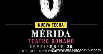 Aplazado el concierto de Robe en Merida previsto para esta noche - Manerasdevivir.com