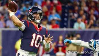 Texans rookie quarterback Davis Mills throws TD