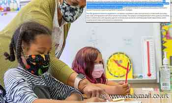 CDC quietly removed guidance for when schools should scrap masks and other COVID-19 precautions