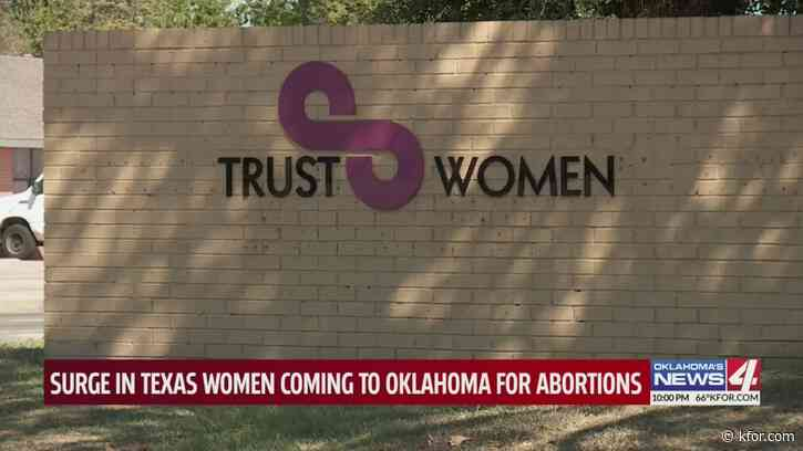 Surge in Texas women coming to Oklahoma for abortions
