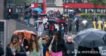 UK weather forecast: Autumn starts on Monday with heavy rain after three-day heatwave