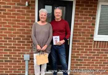 First residents pick up keys for new housing estate near Blackburn