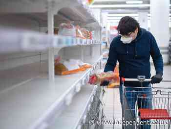 Empty supermarket shelves and panic buying unless urgent action from government, food suppliers warn - The Independent