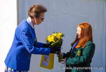 Canvey Island food bank project celebrates special visit from The Princess Royal - In Your Area