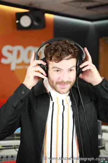 Burnley's Jordan North returns to his university where he learned to DJ
