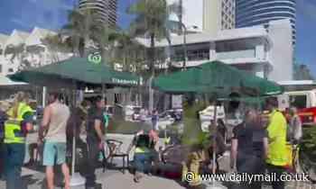 Starbucks Broadbeach: Seven injured as man ploughs his car into cafe