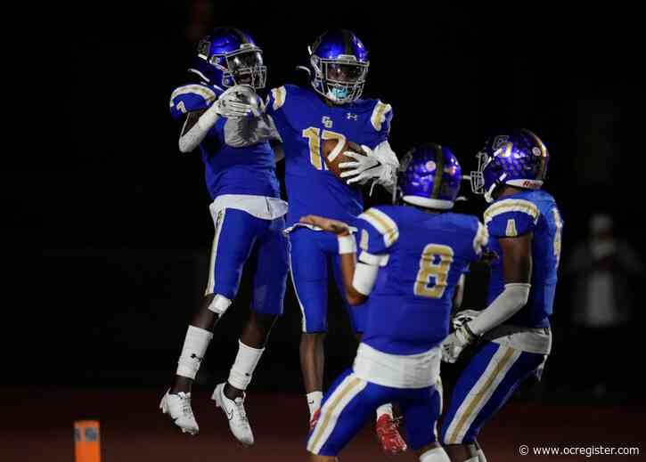 Charter Oak's Zakkarii Black scores four touchdowns in win over West Covina