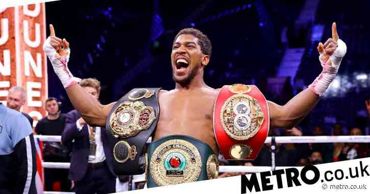 Anthony Joshua: Bigger than a boxer? How 'AJ' has changed the game for everyone